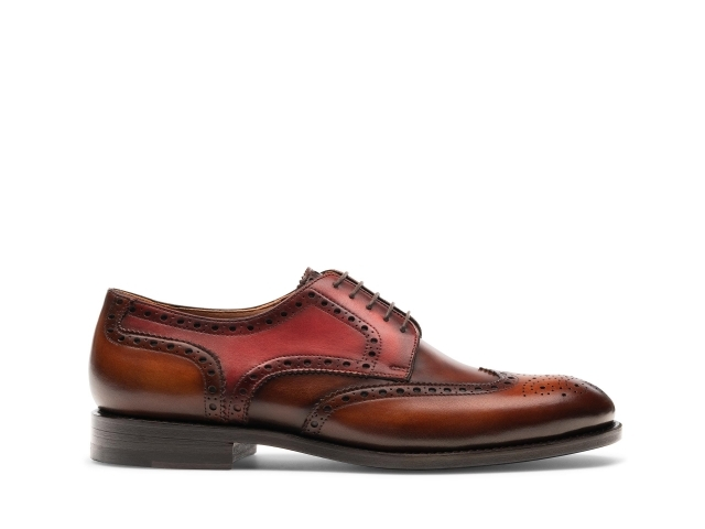 Side of the Mariana Cognac / Midbrown / Red