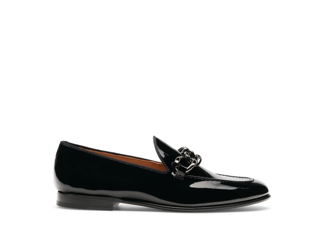 Side of the Coco Black Patent