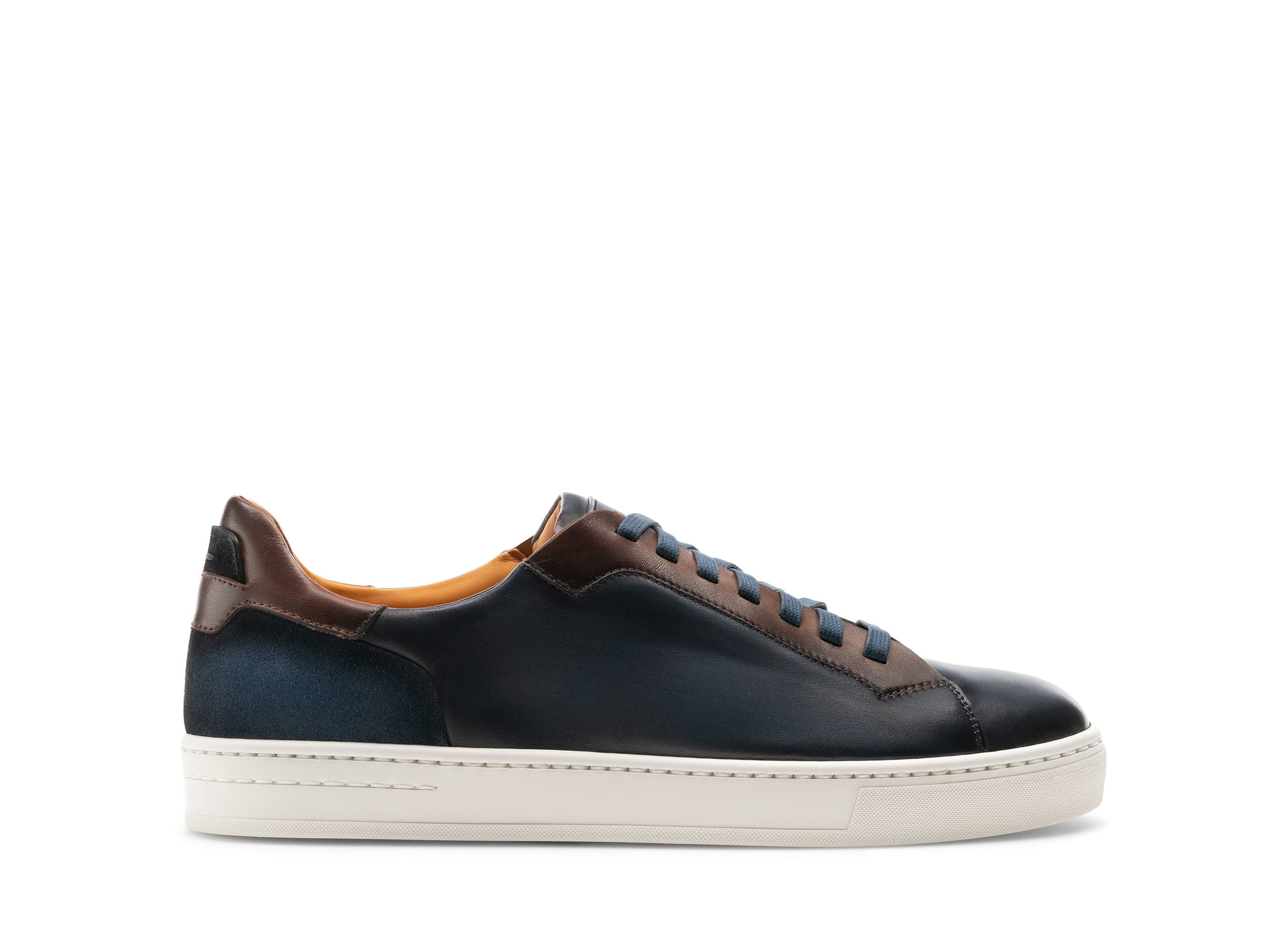 Side of the Amadeo Navy / Brown
