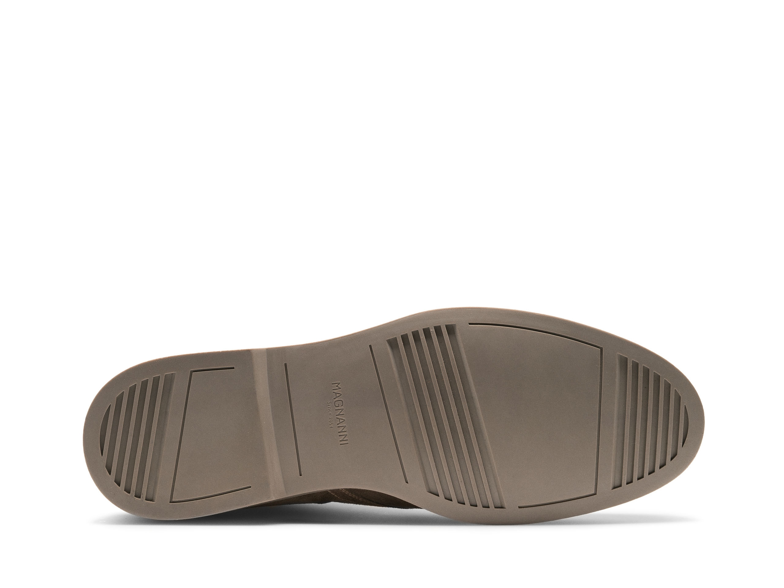 Sole of the Duran Taupe Suede