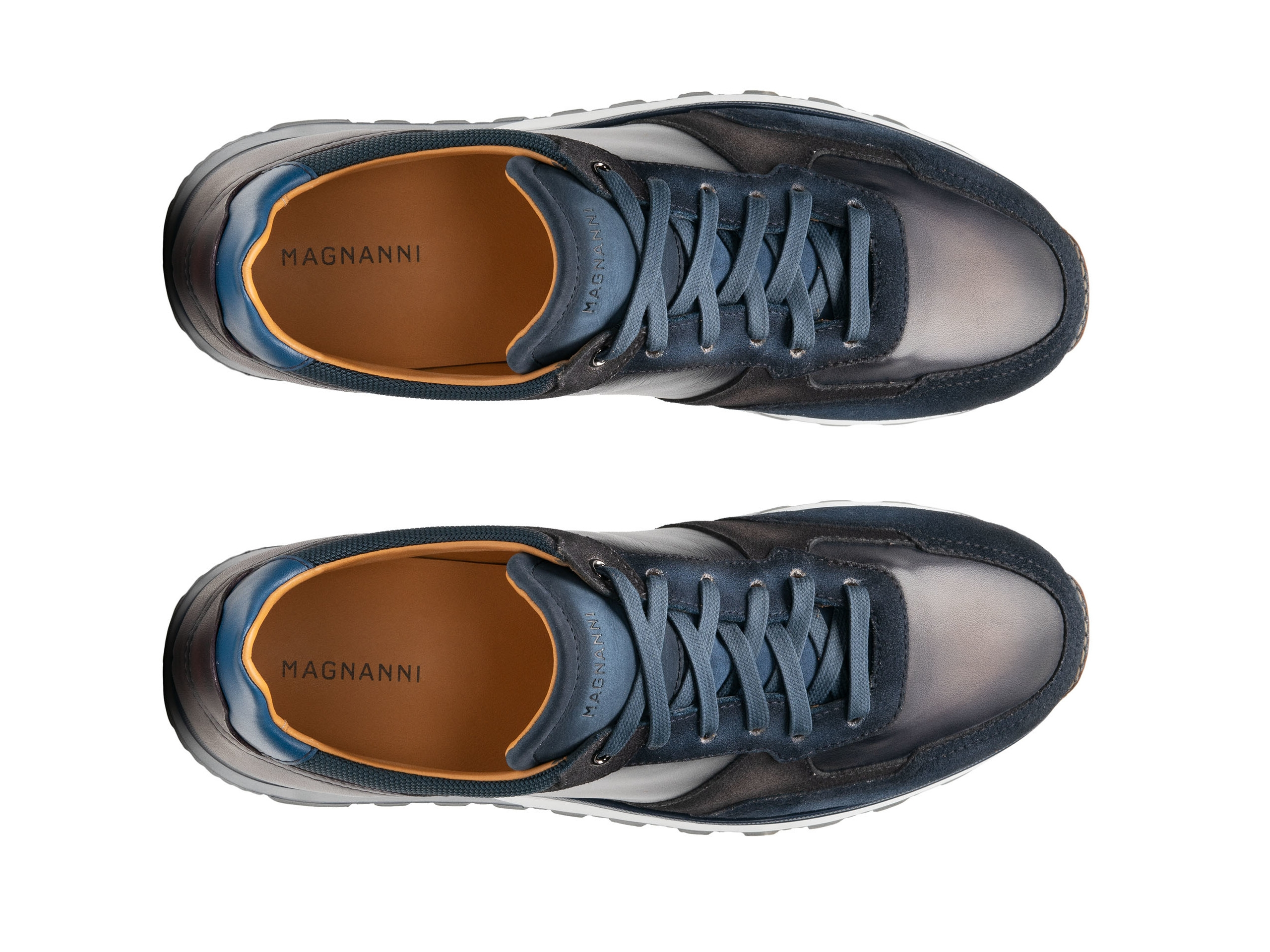 Top Down of the Arco Navy / Grey