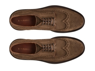Top Down of the Apolo Torba Suede